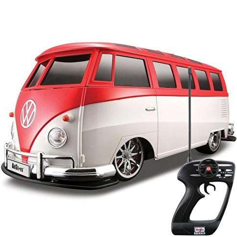 Maisto Maisto Tech 1:10 Volkswagen Van Samba Renkli